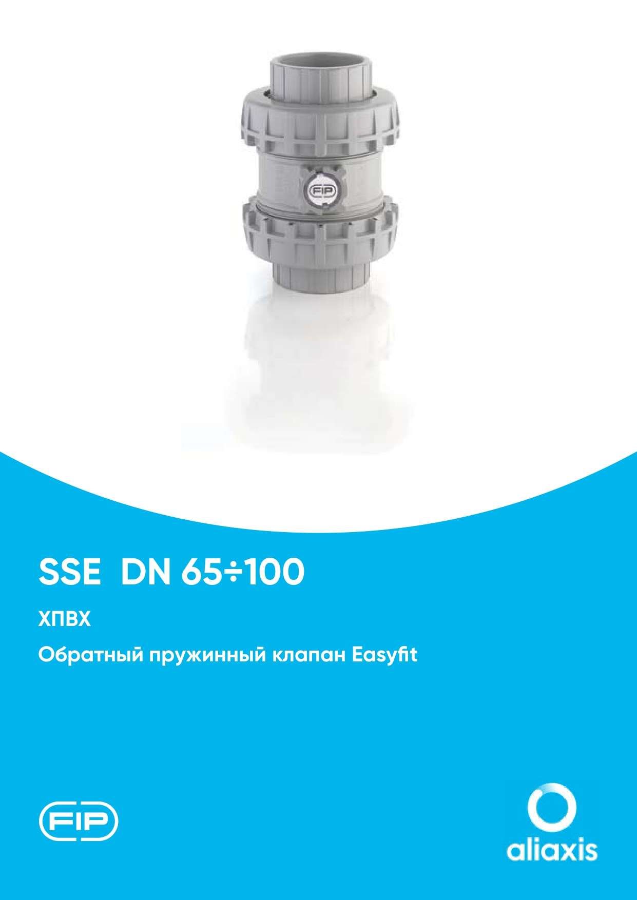 Обратные клапаны SSE/SXE DN65-100 из ХПВХ