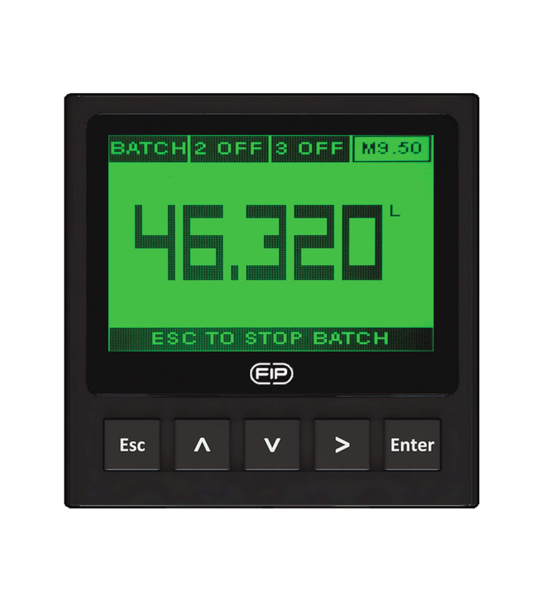 Монитор на два параметра (проводимости и расхода) и преобразователь