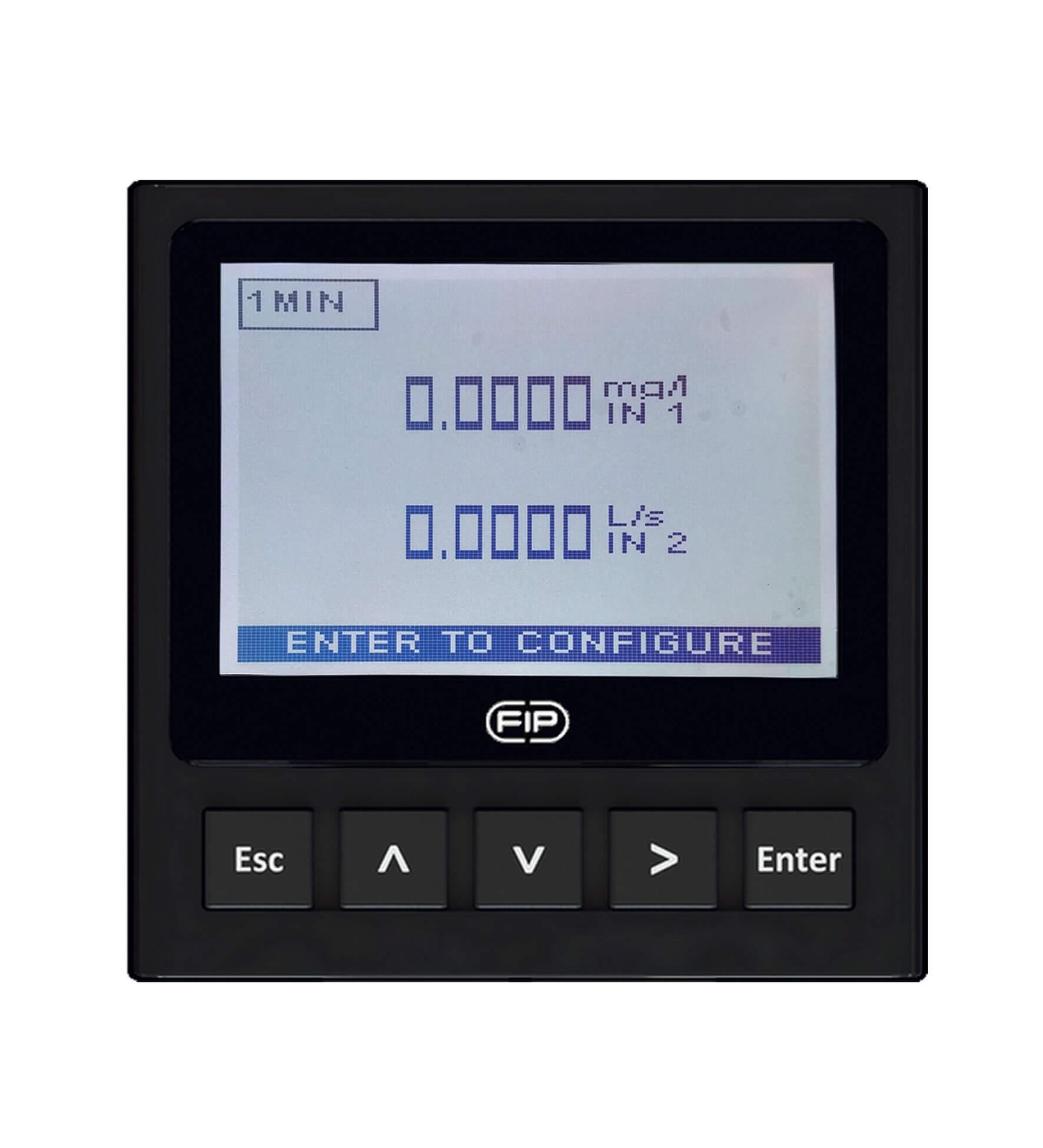 Аналоговый монитор на два параметра и преобразователь