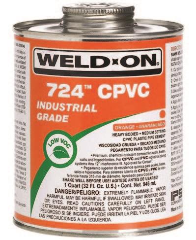 Клей Weld-On 724 CPVC