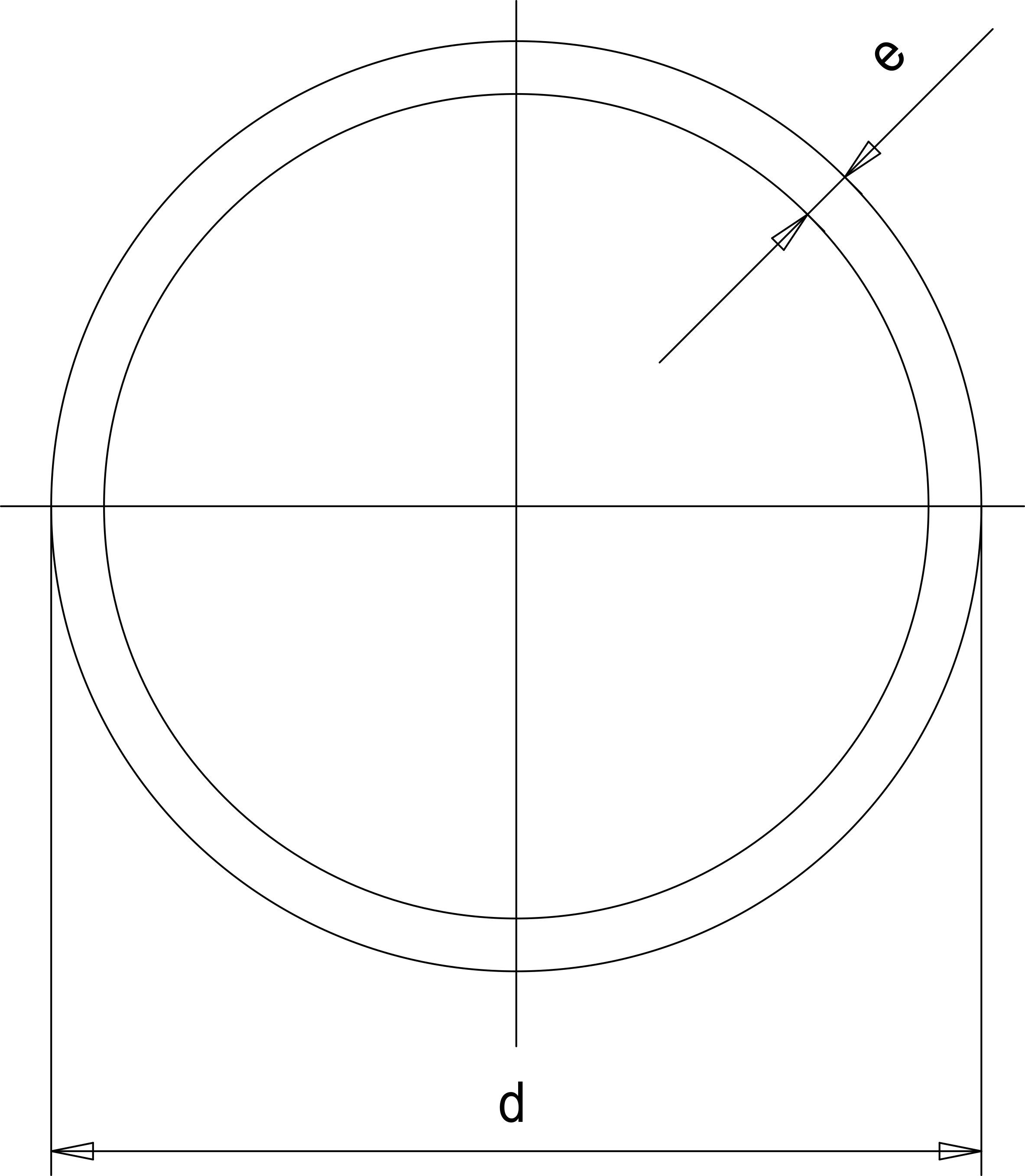 Труба ПВДФ (Simona) d315 SDR33 PN10