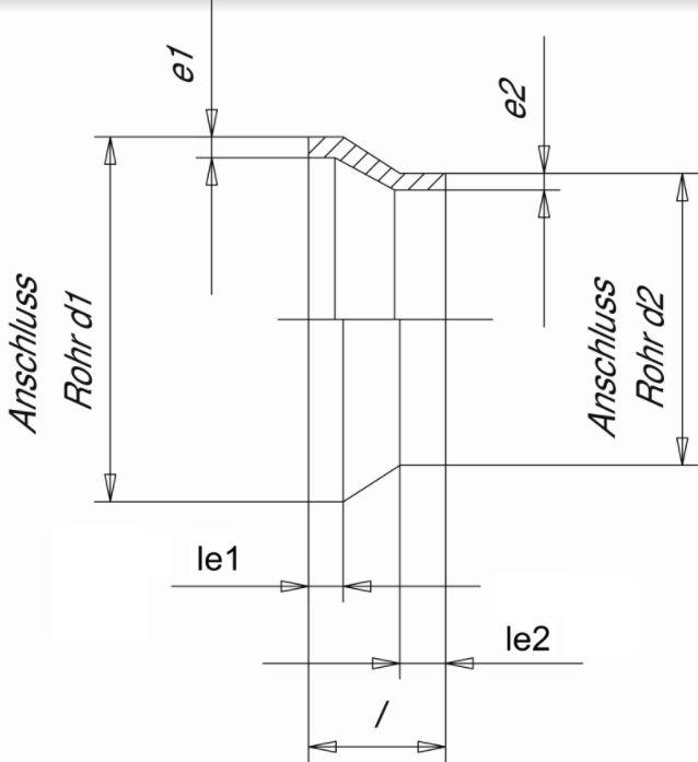 Муфта редукционная (Simona) 250x200 SDR17.6 PN10